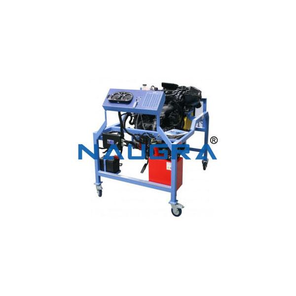 Four Stroke Four Cylinder Petrol Engine Test Bench