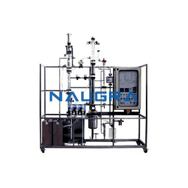 Manual Liquid Extraction Pilot Plant Rotating Disc Column