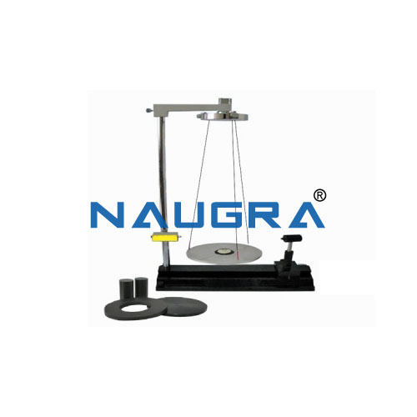 Rotational Moment of Inertia Apparatus