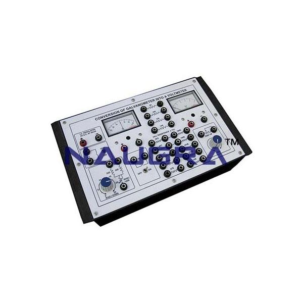 Conversion of Galvanometer