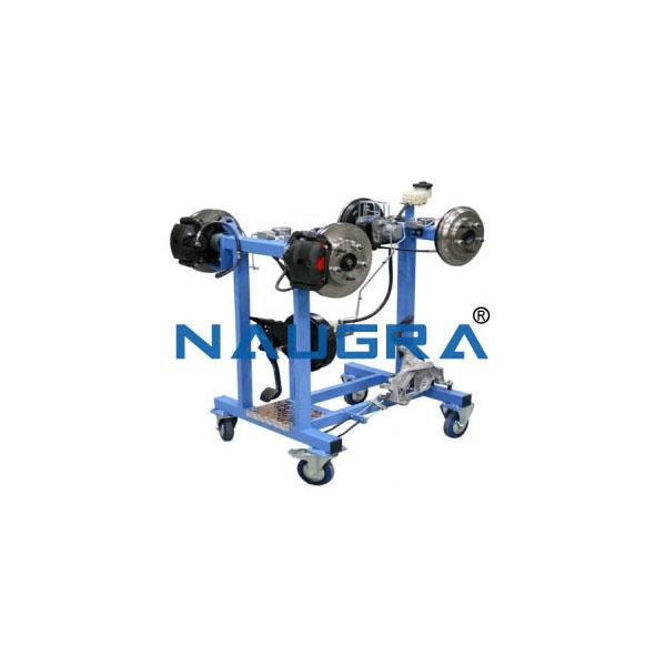 Working Model Of Hydraulic Braking System