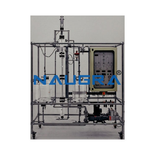 Liquid Extraction Pilot Plant With Raschig Ring Packing