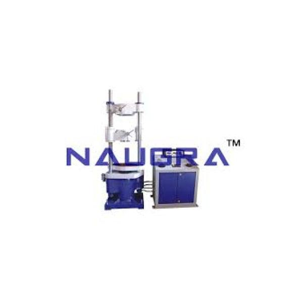Microprocessor Based Universal Testing Machine