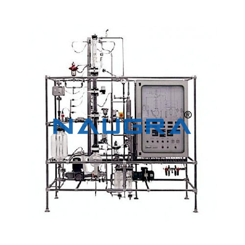 Automated Combined Extraction And Distillation Pilot Plant