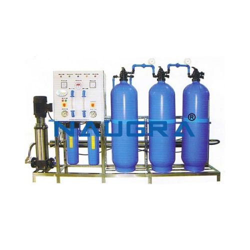 Reverse Osmosis And Ultrafiltration Plant With Software