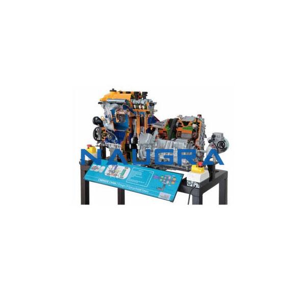 Working Model Of Hybrid Petrol Engine