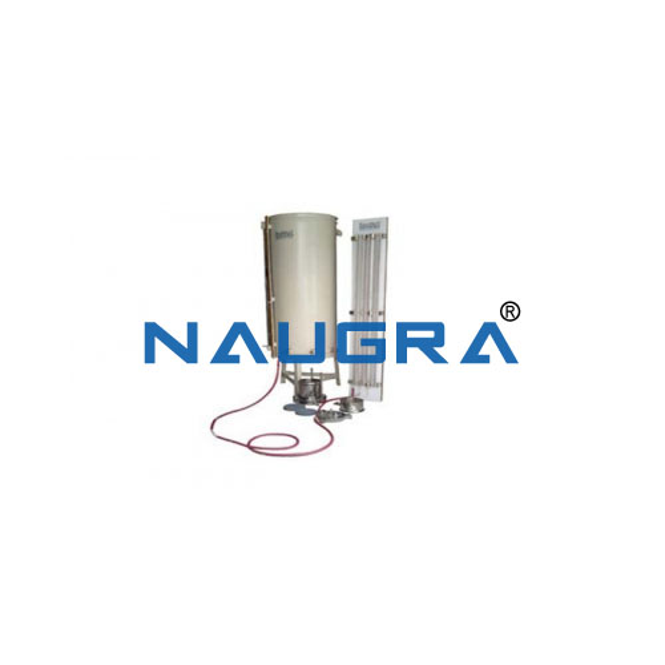 Constant Head permeability apparatus