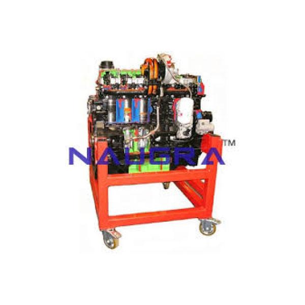 Four Cylinder Diesel Engine