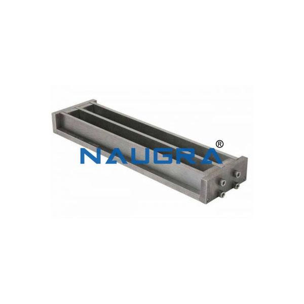 Hydraulic shrinkage mould 25x25x285 mm