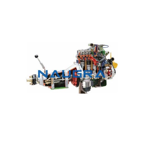 Working Model Of Gear Box