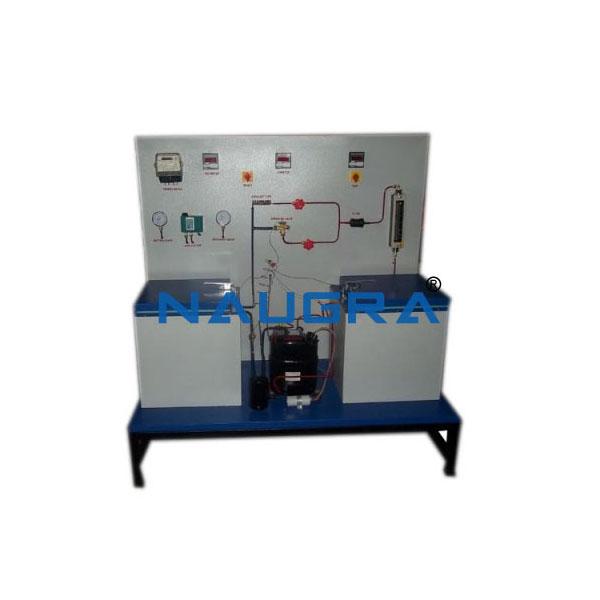 Water-Water Heat Pump Test Rig
