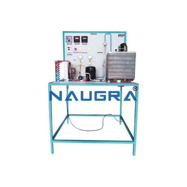 Vapour Compression Refrigeration System Test Rig