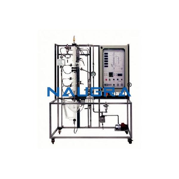 Automated Continuous Distillation Pilot Plant