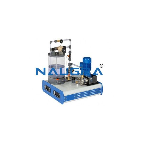 Computerized Reciprocating Pump Test Apparatus