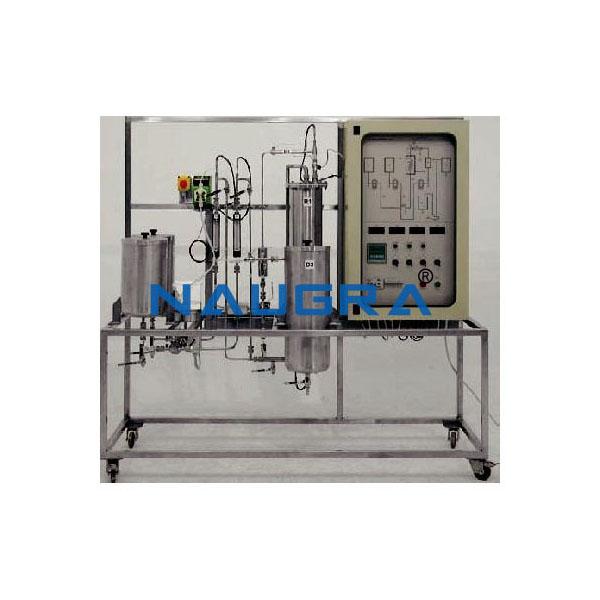 Automated Continuous Reaction Pilot Plant Plug Flow Reactor
