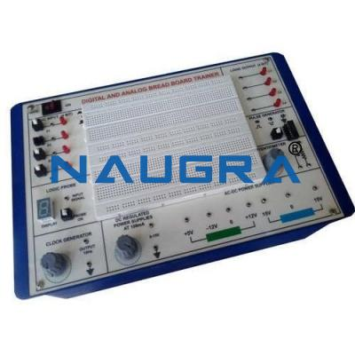 Analog and Digital Trainer Bread Board Type