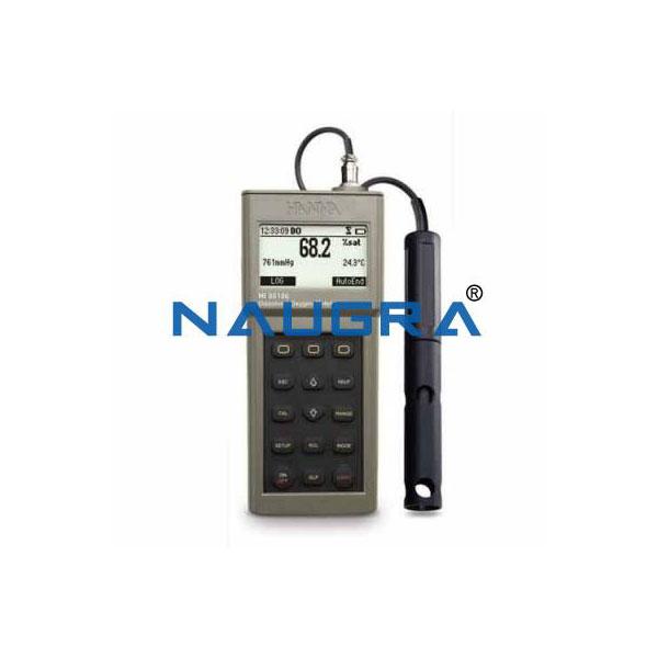 Dissolved Oxygen Meter /BOD/oC + Accessories