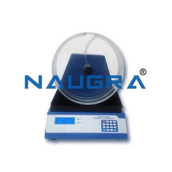 Microprocessor Friability Apparatus