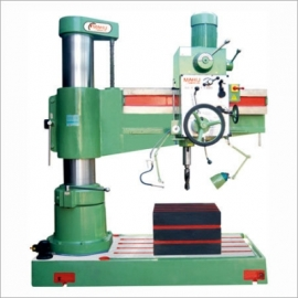 All Geared Radial Drill 40, 50, 65, 75 MM Box Table