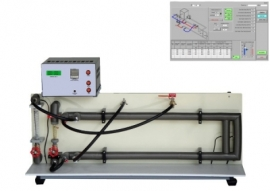 Parallel and Counter Flow Heat Exchanger with data acquisition