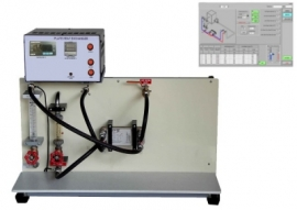 Plate Type Heat Exchanger with data acquisition