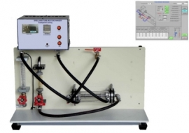 Shell and Tube Heat Exchanger with data acquisition